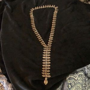 Long western style necklace